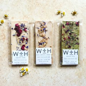 White Raw Chocolate Selection Pack Of Three - 18th birthday gifts