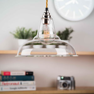 Clear Glass Coolicon Pendant Light - ceiling lights