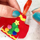 Christmas Jumper Decoration Sewing Craft Kit
