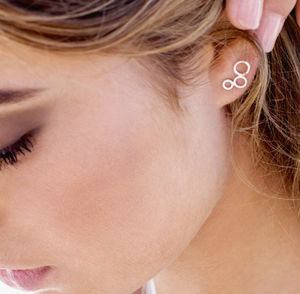 Bubble Studs - contemporary jewellery