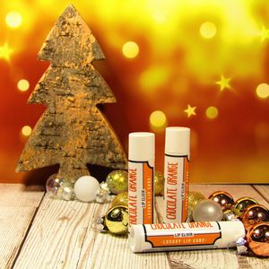 Luxury Christmas Lip Balms Choice Of Three Flavours
