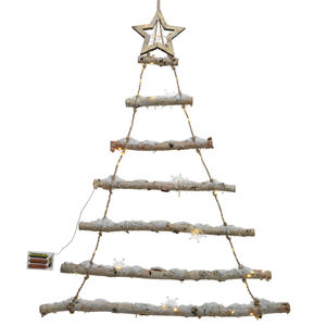 Alternative Wooden Branch LED Tree - christmas trees