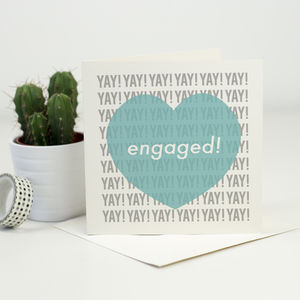 Engagement Card - shop by category