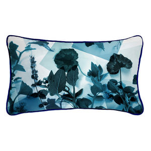 Photographic Botanical Plants Silk Cushion