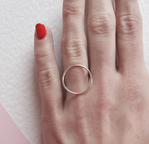 Circle Ring - gifts for friends