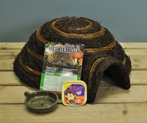 Deluxe Hedgehog Care Pack - birds & wildlife