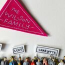 Small Supporters Personalised Family Picture