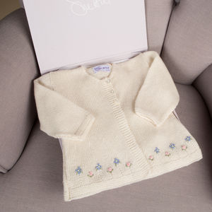 Cashmere Forget Me Not Cardigan - jumpers & cardigans