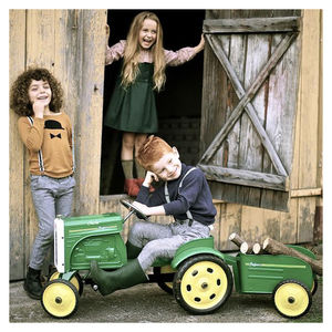 Personalised Tractor Ride On Toy - outdoor toys & games