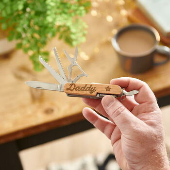 Personalised Pen Knife For Dad