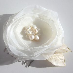 New 'Simply Flowers' Hair Piece - bridesmaid fashion