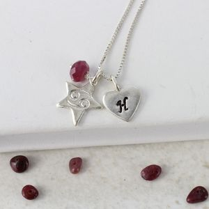 Personalised Zodiac Star Sign Necklace