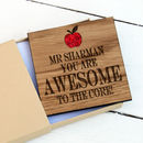 Awesome Teacher Coaster