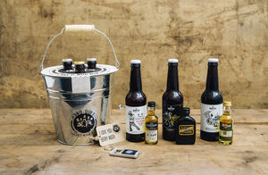 A Wee Half And Half : Whisky And Beer Bouquet - gift sets
