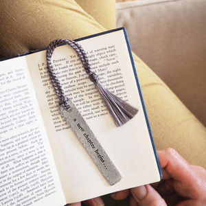 'A New Chapter Begins…' Bookmark