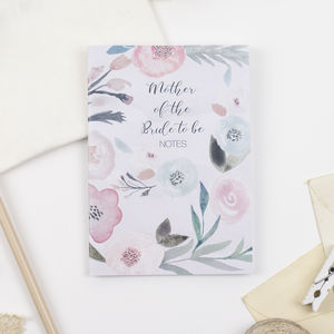Mother Of The Bride To Be Notebook - planners & record books