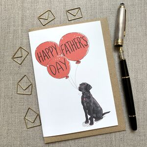 Father's Day Labrador Card