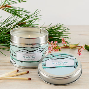 Nordic Sky Fresh Mint Scented Candle