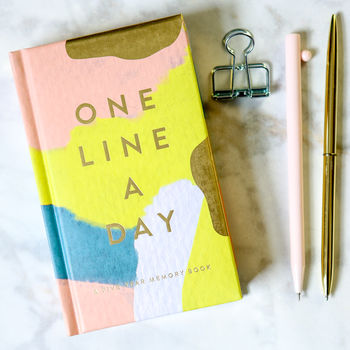 One Line A Day Five Year Diary Or Memory Book