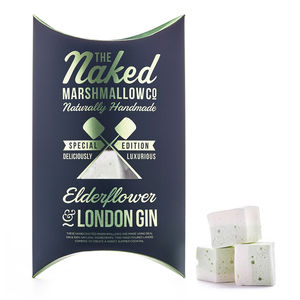 Elderflower And London Gin Gourmet Marshmallows
