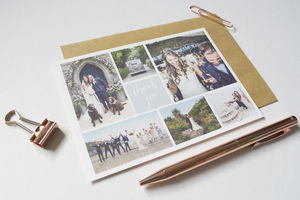 Personalised Alden Wedding Thank You Postcards - what's new