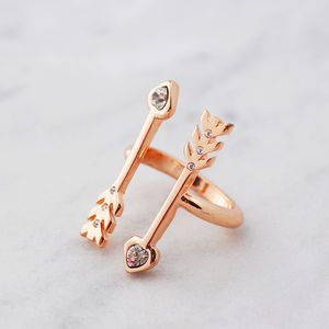 Double Arrow Ring - rings