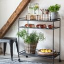 Metal Industrial Drinks Trolley