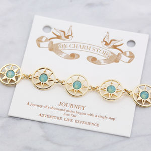 Journey Gift Card Bracelet - bracelets & bangles