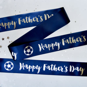 Father's Day 48mm Personalised Printed Ribbon
