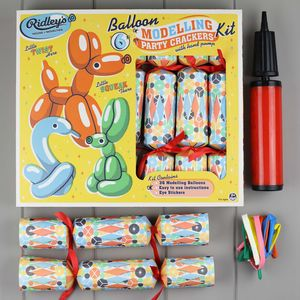 Balloon Modelling Party Crackers - christmas entertaining