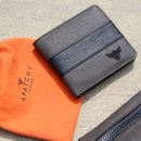 Waxed Cotton Wallet With Gift Bag