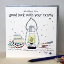 Good Luck Exams Card