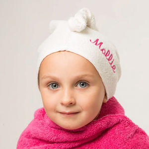 Personalised Cuddle Twist Hair Towel