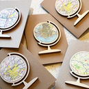 Personalised Map Globe Bauble Keepsake Decoration