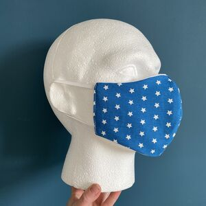 Face Mask 100% Cotton Reusable And Reversible