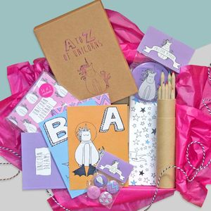 A To Z Of Unicorns Gift Box - gifts for children