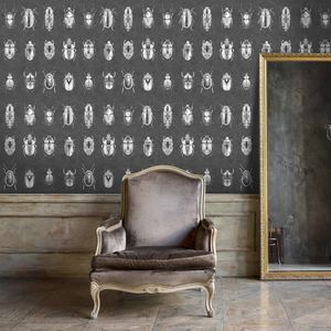 Beetle Jewels Wallpaper By Woodchip And Magnolia - wallpaper
