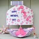 Personalised Mother's Day Sailboat Card