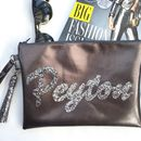 Personalised Wristlet Bag