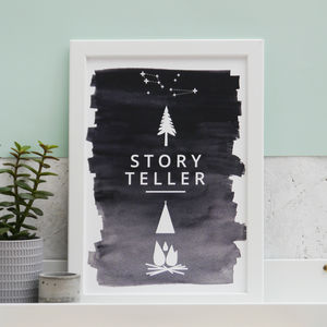 Ombre Campcraft Constellation Print