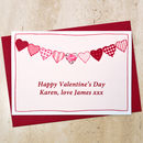 Personalised Valentines Day Card by Jenny Arnott Cards & Gifts