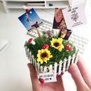 Personalised Mini Garden Desktop
