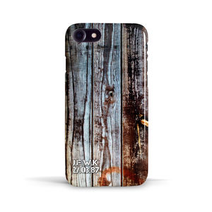 Personalised Wooden Board Case For iPhone - phone covers & cases