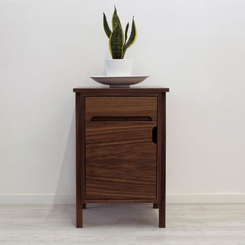 Bond Walnut Side Table
