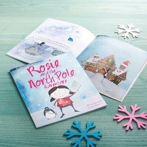 Personalised North Pole Adventure Book - stocking fillers for babies & children