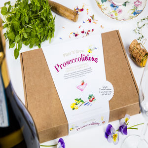 Prosecco Licious Prosecco Garden Cocktail Kit - engagement gifts