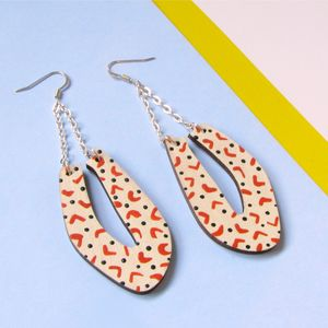 Contemporary Statement Geometric Earrings Petalo - earrings