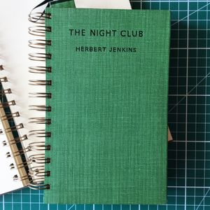 'The Nightclub' Upcycled Notebook