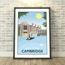 Bridge Of Sighs, Cambridge Print