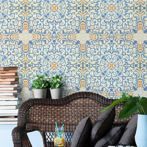 Spanish Tile Wallpaper - home accessories